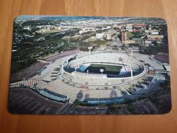 Mexico City Olimpico Ciudad Universitaria Stadium Cartolina Stadio Postcard Stadion AK Carte Postale Stade Estadio - Fútbol
