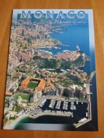 Monaco Monte Carlo Le Stade Louis II Stadium Cartolina Stadio Postcard Stadion AK Carte Postale Stade Estadio - Fussball