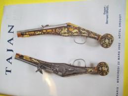 Armes Et Uniformes/Catalogue De Vente Aux Enchéres/ TAJAN/Souvenirs Historiques Et  Armes Anciennes/2002   CAT139 - Catalogues