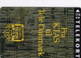 Denmark, KP 183, From Ktas To Tele Danmark,114 Kr, Only 8.500 Issued, 2 Scans. - Denmark