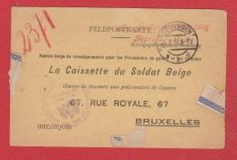 Feldposkarte --  La Caissette Du Soldat Belge --  Guttingen --  5 Février 1916 - Stamped Stationery