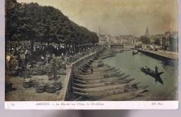 AMIENS . Le Marché Sur L'Eau , Les Hortillons . - Amiens