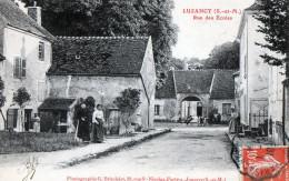 LUZANCY - Rue Des Ecoles - Autres Communes