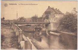 """26889g PONT - CANAL DE DUNKERQUE - """"CHICORE F.C. JACOBS"""" - Adinkerke - De Panne"""