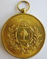 M01940  COMMUNE D'IXELLES - MARCHE DE LA PLACE STE CROIX XX ANNIVERSAIRE - 1925  (42g) Couronne De Fleurs Au Revers - Professionals / Firms