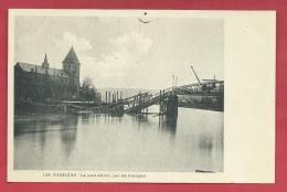 Hastière 1914 - Le Pont Détruit Par Les Français ( Voir Verso )