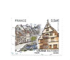 Série Touristique. Colmar 4443 Oblitéré Année 2010 - France