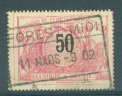 """BELGIE - OBP Nr TR 21 - Cachet  """"FOREST-MIDI"""" - (ref. AD-4345) - Chemins De Fer"""