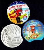 Algeria-Algérie ETIQUETTE FROMAGE LABEL CHEESE- -la Vache Qui Rit - Cheese