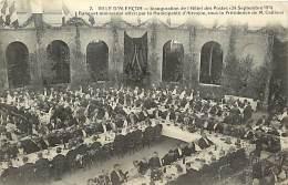 - Depts Divers -FF695- Orne - Alencon - Inauguration Hotel Des Postes - 24 Sept. 1911 - Banquet - Inaugurations - Poste - Alencon