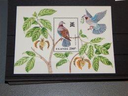 Uganda - 1982 Birds Block MNH__(TH-15563) - Uganda (1962-...)
