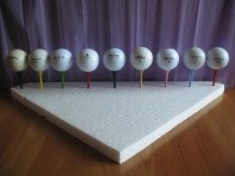 Balles De Golf - Lot De 9 Balles De Différentes Marques - Golf
