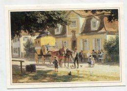 PAINTING - AK 270210 Paul Hey - Mittagspost Vor Einer Bayrischen Poststation Um 1910 - Peintures & Tableaux