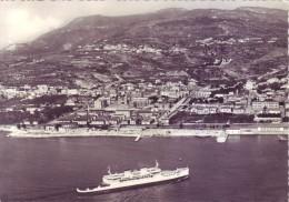 Villa S.Giovanni (RC) - Panorama Dall´aereo, Viaggiata1957 - Reggio Calabria