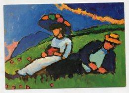 PAINTING - AK 270228 Gabriele Münter - Jawlensky Und Werefkin - 1908/09 - Paintings