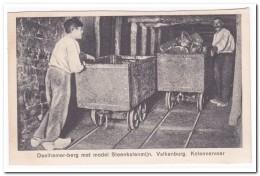 Valkenburg, Daelhemer-berg Met Model Steenkolenmijn, Kolenvervoer. - Mijnen