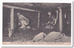 """Staatsmijn """"Wilhelmina"""" Erk In Een Kolenpijler - Mijnen"""