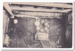 """Staatsmijn """"Emma""""Hoensbroek, Ondergrondsch Vervoer Op 325m. Diepte - Mijnen"""