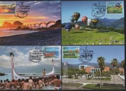 Taiwan(R.O CHINA) - Carte Maximum Card–Taiwan Scenery / Taitung County 2016