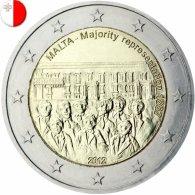 MALTE 2012 / 2 EURO COMMEMORATIVE / MAJORITE REPRESENTATIVE - Malta