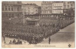 1915 - A BRUXELLES, Une Parade Allemande - Croquis De Guerre 433 - Other