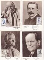 CARTES MAXIMUM  FRANCE  MEDECINS  CHIRURGIE  MALADIES  SANTE 1958 - Medizin