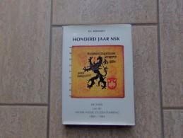 Honderd Jaar NSK Door G.L. Holvoet, Antwerpen, 352 Blz., 1985 - Livres, BD, Revues