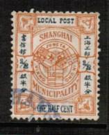 REPUBLIC Of CHINA---SHANGHAI 1/2c LOCAL POST VF USED - 1945-... República De China
