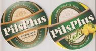 PILS PLUS RADLER New Beer Coaster From EFES ZAJECAR BREWERY SERBIA - Sous-bocks
