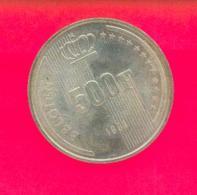 Belgique - Baudouin - 500 Francs 1991 BELGIEN - FDC - 1951-1993: Baudouin I