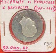Belgique - Millénaire De BRUXELLES - FDC - Belgique