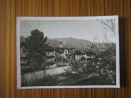 CA4 ITALIA PIEMONTE TORINO MATHI CANAVESE PANORAMA DA LEVANTE OPACA SEPIA VG. 1958 - Collections & Lots