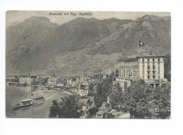 Brunnen Mit Rigi-Hochfluh 1921 - SZ Schwyz