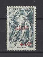 ALGERIE . YT  266  Neuf **  Résistance. Timbre Surchargé  1947 - Ungebraucht