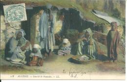 Algérie Gourbie De Nomades - Algérie