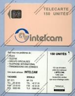 "CAMEROON: CAM-28A ""Orange Logo - White Reverse"" 150 Units SC:5 Afnor CN:C3B. Used - Cameroon"