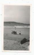 Photographie 11 X 7 , La Plage D'Hendaye Vue De Fontarabie  , 1949 - Places