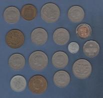 LOT DE 15 PIECES DE MONNAIES DE PAYS ARABES A IDENTIFIER ET 2 D' ISRAËL - Altri – Africa