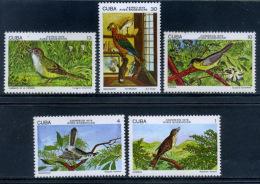 Cuba 1978 / Birds MNH Aves Vögel Oiseaux / Cx18 - Vögel