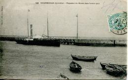 N°404 E -cpa Ouistreham -paquebot Du Havre Dans L'avant Port- - Bateaux