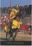 Carcassonne Patrimoine Mondial Humanité : Chevalier Cheval Armure Joute - Carcassonne