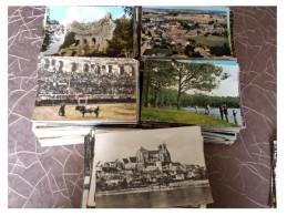 Lot De 500 Cpsm Cpm France - Cartes Postales