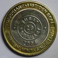 @Y@    LEAP DAY COIN !!! TURKEY 1 MILLION LIRA 29 FEBRUARY 2004 - Turquie