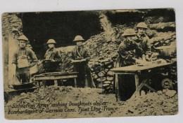 Amerikaanse Postkaart Frans Front: Salvation Army Making Doughnots - Guerre 1914-18