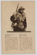Britse Soldaat Vol Hoop (in 't Frans En In 't Nederlands) - Guerre 1914-18