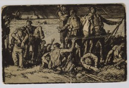 Frank Brangwyn: After The Sea Fight - Patriotiques