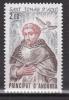 Andorre 1982  - Neuf ** N° 309 -  St Thomas D´ Aquin - Neufs