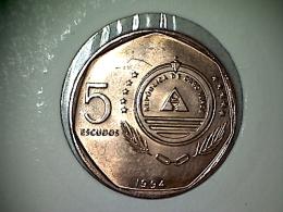 Cap Vert  5 Escudos 1994 - Cape Verde