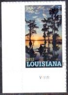Timbre USA Adhésif Louisiana - 2012 - Nuovi
