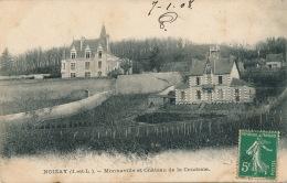 NOIZAY - Monnaville Et Château De La Coudraie - Other Municipalities